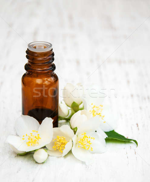 Massage oil Stock photo © almaje