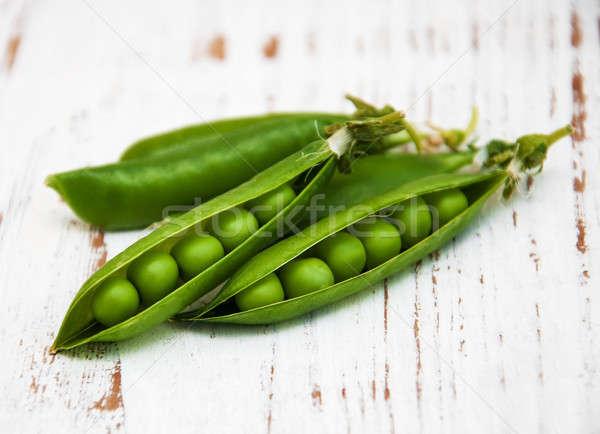 fresh peas Stock photo © almaje