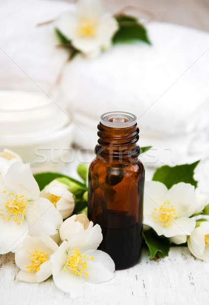 Massage oil  Stock photo © almaje