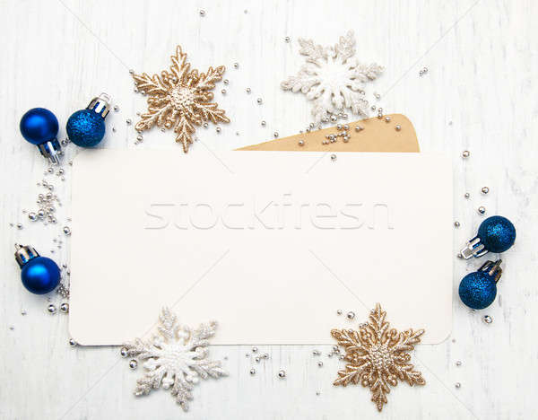 greeting card for christmas Stock photo © almaje