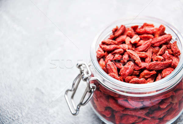 dry red goji berries  Stock photo © almaje