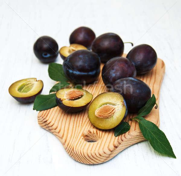 Doce velho comida natureza Foto stock © almaje