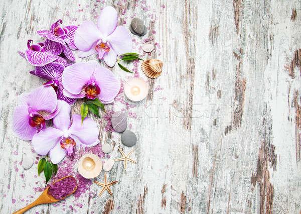 Spa and massage products Stock photo © almaje