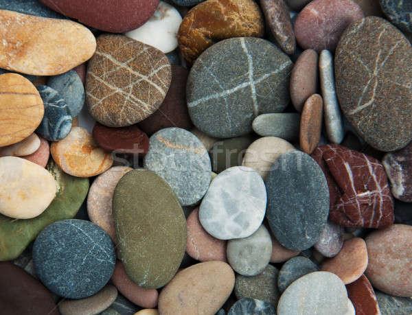 Zee natuur ontwerp achtergrond zomer Stockfoto © almaje