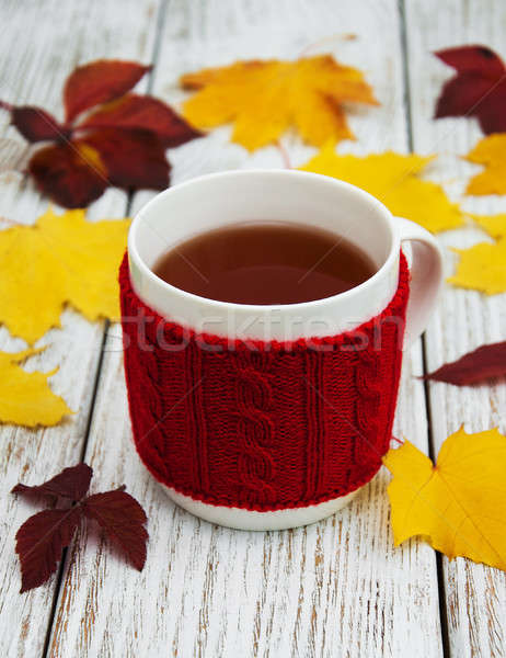 Cup of tea Stock photo © almaje