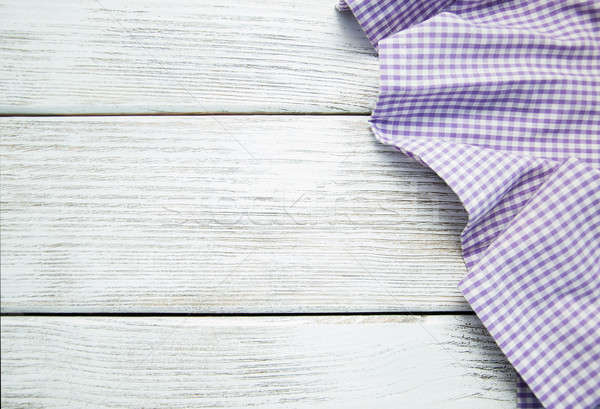 Serwetka fioletowy starych tekstury drewna Zdjęcia stock © almaje