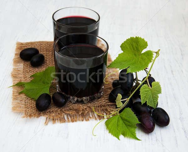 grape juice Stock photo © almaje