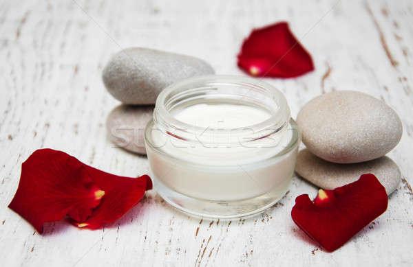 moisturizing cream Stock photo © almaje