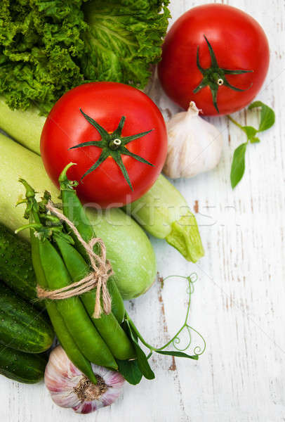 various vegetables Stock photo © almaje