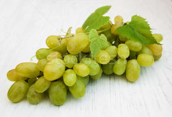 white grape Stock photo © almaje