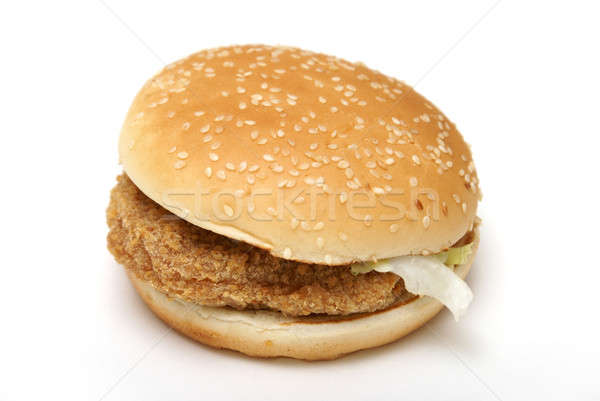 Chicken Burger Stock photo © AlphaBaby