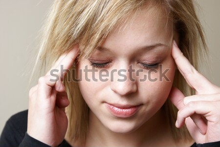 Headache Stock photo © AlphaBaby