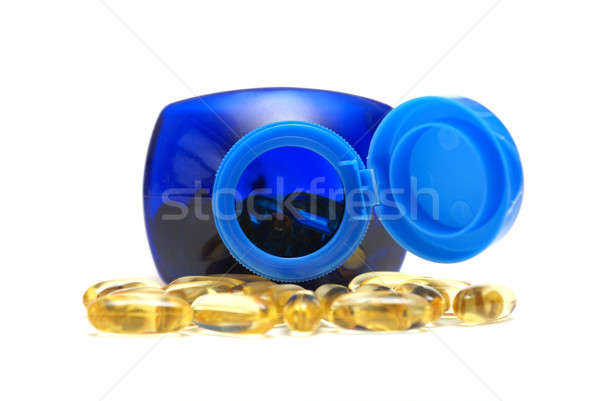 Omega Three Capsules Stock photo © AlphaBaby