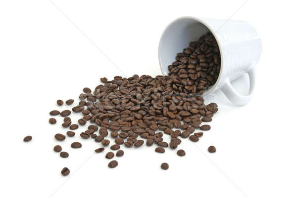 Spilled Coffee Beans Stock photo © AlphaBaby