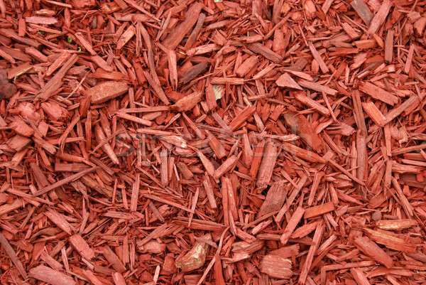 Red Mulch Stock photo © AlphaBaby