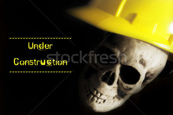 Under Construction Alert Stock photo © AlphaBaby