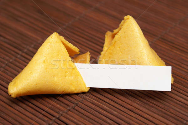 Fortune Cookie Stock photo © AlphaBaby
