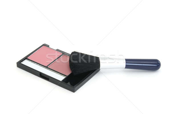 Blush Makeup and Brush Stock photo © AlphaBaby
