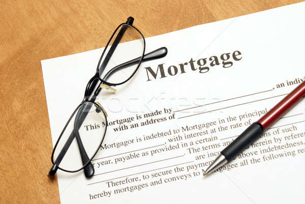 Mortgage Agreement Stock photo © AlphaBaby