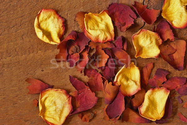 Dried Rose Petals Stock photo © AlphaBaby