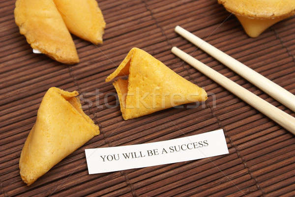 Successful Fortune Cookie Stock photo © AlphaBaby