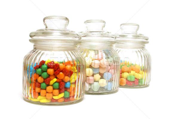 Candy Jars Stock photo © AlphaBaby