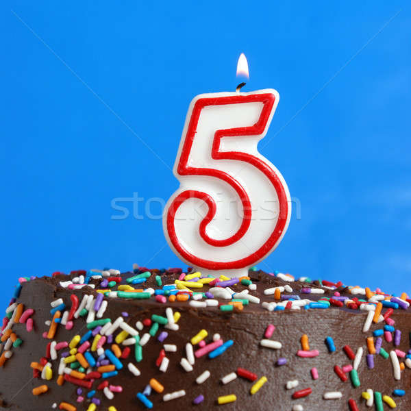 Celebrating Five Years Stock photo © AlphaBaby