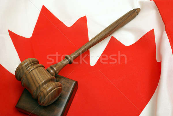 Canadian Law Stock photo © AlphaBaby