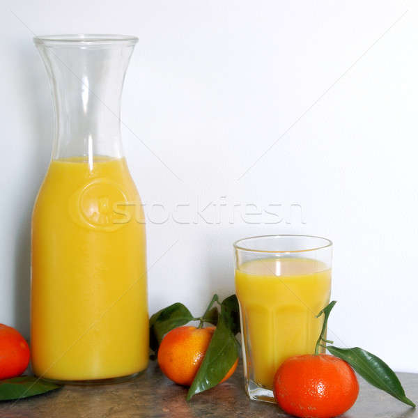 Vers citrus mengsel vierkante formaat afbeelding Stockfoto © AlphaBaby
