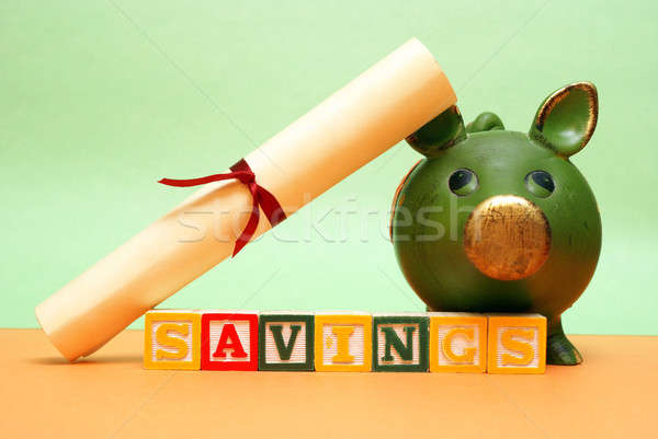 Education Savings Stock photo © AlphaBaby