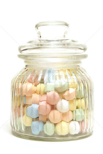 Candy Jar Stock photo © AlphaBaby