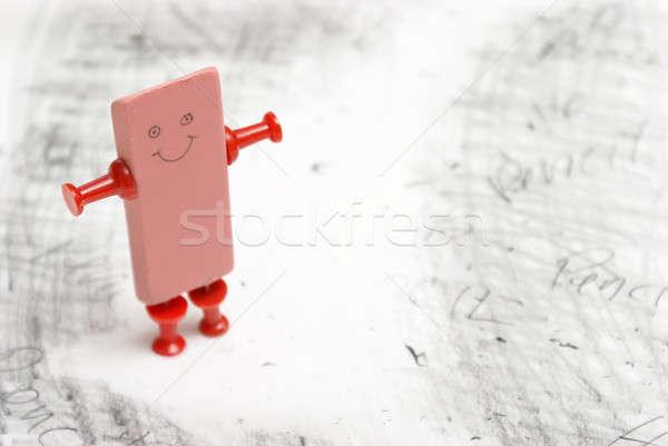 Eraser Man Stock photo © AlphaBaby