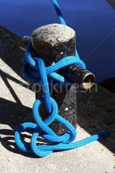 Boat Knot at Shoreline Stock photo © AlphaBaby