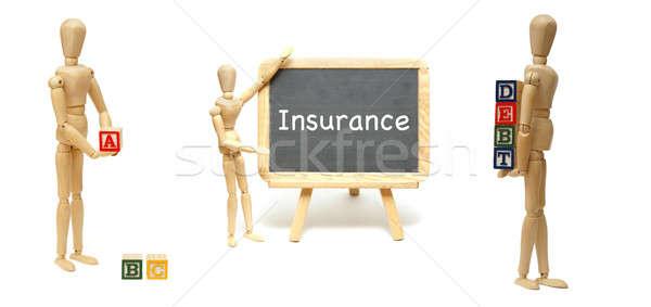 Fundamentals of Safe Debts Stock photo © AlphaBaby