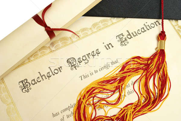Bachelor of Education Stock photo © AlphaBaby
