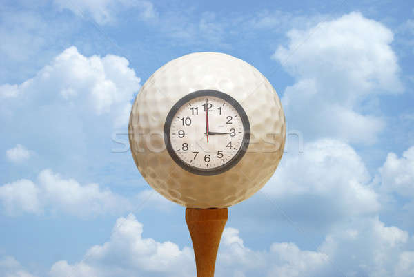 Tee Time Stock photo © AlphaBaby