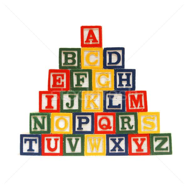 The Alphabet in Blocks Stock photo © AlphaBaby