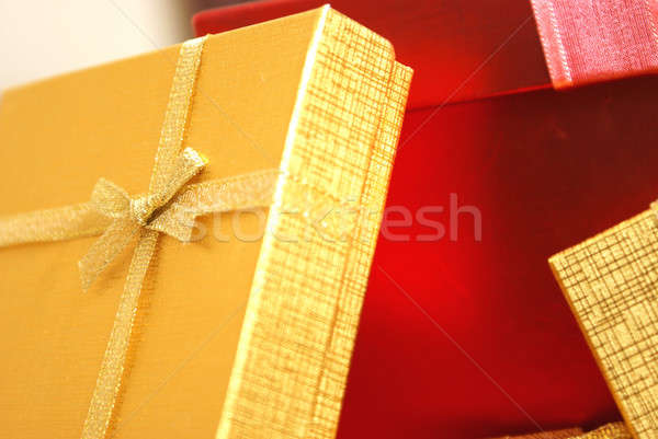 Christmas Gifts Closeups Stock photo © AlphaBaby