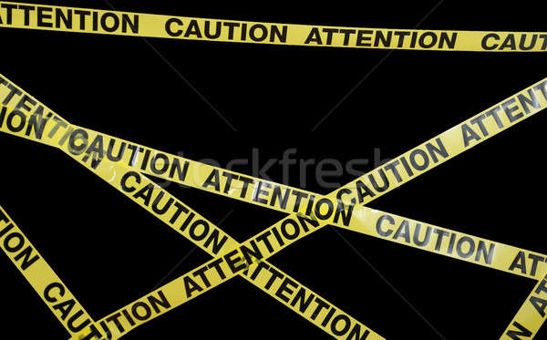Caution Tape Stock photo © AlphaBaby