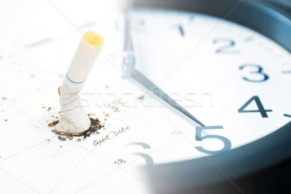 Quit Date Set Stock photo © AlphaBaby