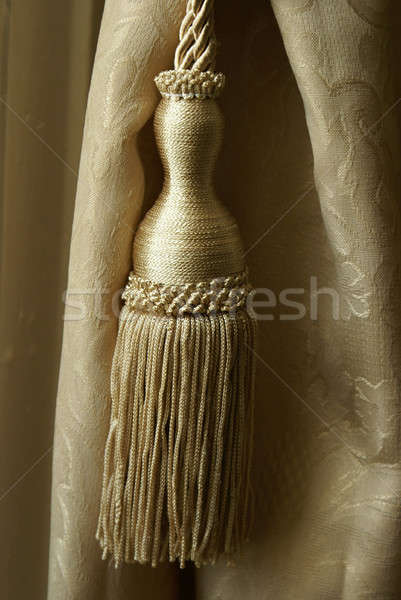 Curtain Tassel Stock photo © AlphaBaby