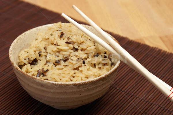 Rice Stock photo © AlphaBaby