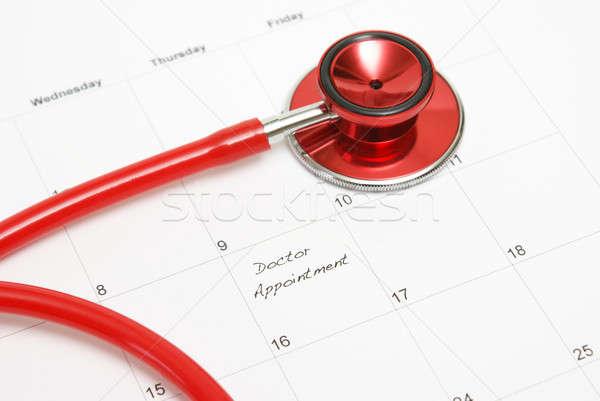 Medici appuntamento calendario paziente bisogno servizi Foto d'archivio © AlphaBaby