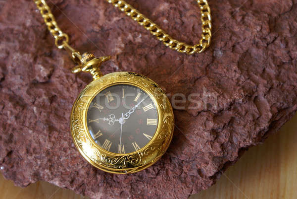 Gold Pocket Watch Stock photo © AlphaBaby