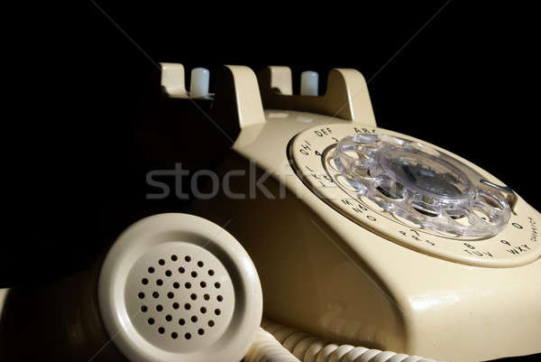 Rotary Phone on Hold Stock photo © AlphaBaby