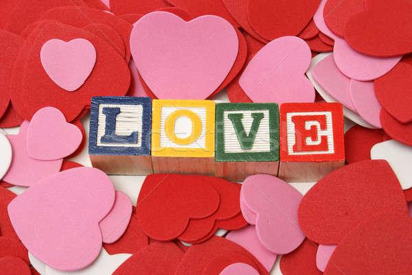 Simply Love Stock photo © AlphaBaby