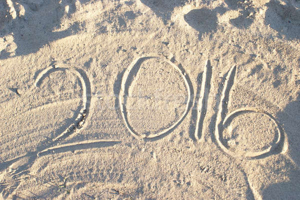 Beach Sand 2016 Stock photo © AlphaBaby