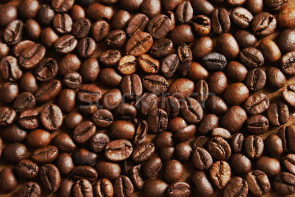 Coffee Bean Background Stock photo © AlphaBaby