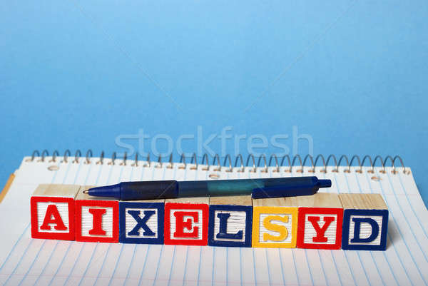 Dyslexia Difficulties Stock photo © AlphaBaby
