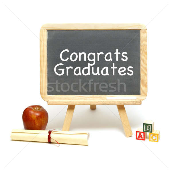 Congrats Grads Stock photo © AlphaBaby